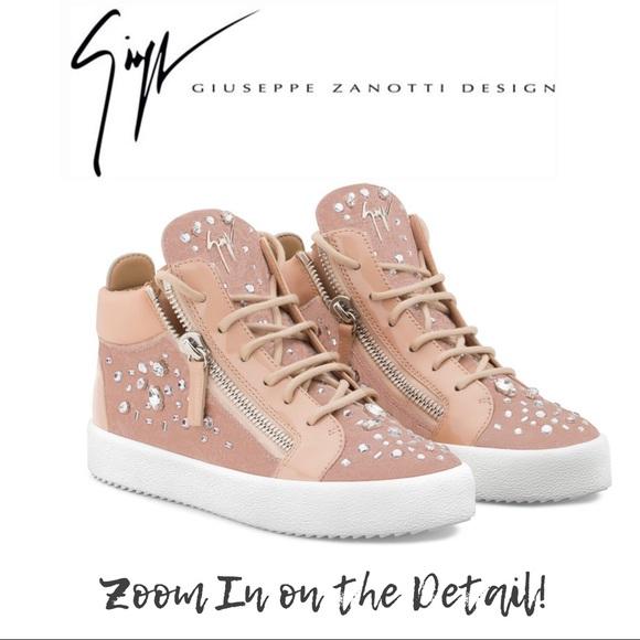 Giuseppe Zanotti Pink Sneaker New